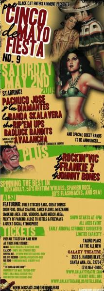 cinco de mayo fiesta rockabilly and ska 2009
