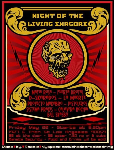 night of the living skacore - Ska festival
