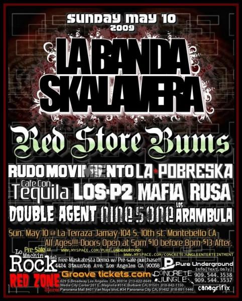 latink ska punk reggae in Montebello, California.