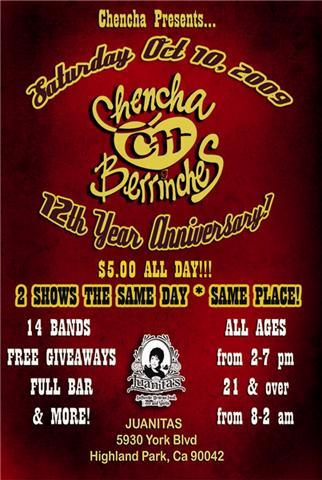 chencha-berrinches-12-year-anniversary-flyer1