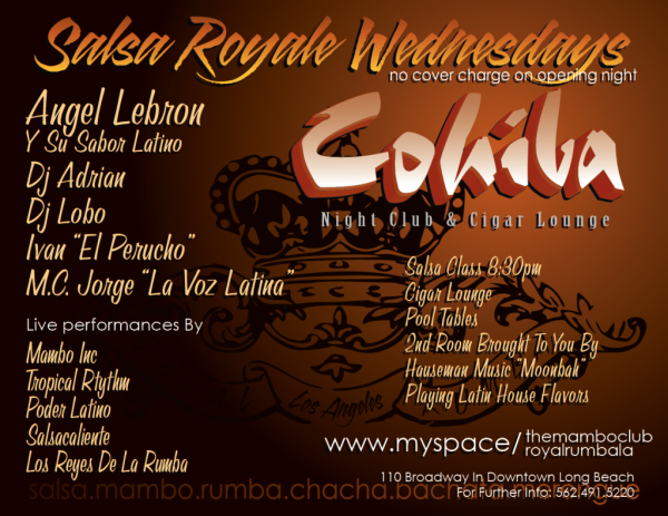 cohiba-salsa-royale-wednesdays