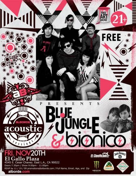 blue jungle bionico